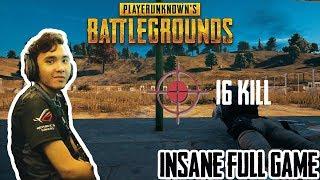 FULL GAME 16 KILLS INHUMAN REACTION ?!?!?!?