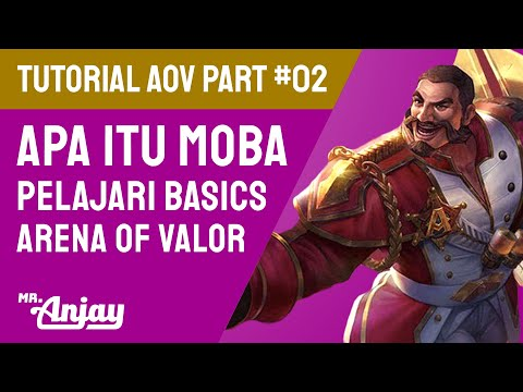 AOV TUTORIAL PART 2: Basics Laning • Cara Efisien pakai Gold & Gems • Apa itu MOBA? • Pahami Creep!