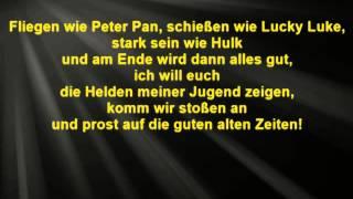 Dame - Auf die guten Alten Zeiten (lyrics)