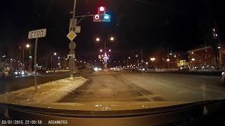ДТП Самара Московское шоссе. В лоб. Кто-то ехал на красный?