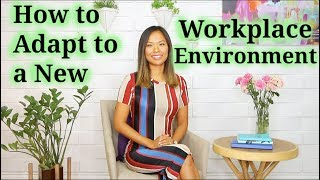 Workplace Environment (How To Adapt To A New One)