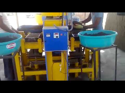 Semi Automatic Hydraulic Brick And Paver Block Making Machine