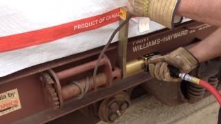 RAD 7GX - Pneumatic Railcar Cable Tensioning Kit