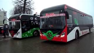 Электробусы в Могилёве _ Вывод на маршрут.