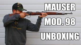 German / Czech Model 98 Mauser, 8mm, 5 Round Bolt Action, NRA Surplus Good - Rare 1945 Dated Post War Mauser C & R Eligible