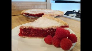 Raspberry Pie Recipe With Frozen Berries