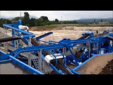 Railway ballast recycling in Germany