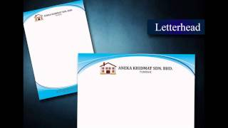 preview picture of video 'Butterworth Letter Head, Poster, Note Pad, Card, Letter Paper, Printing, Delivery in Penang'