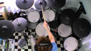 """Dizzy Mizz Lizzy """"Find My Way"""" - Drum Cover"""