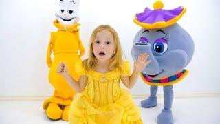 Настя и её необычные игрушки