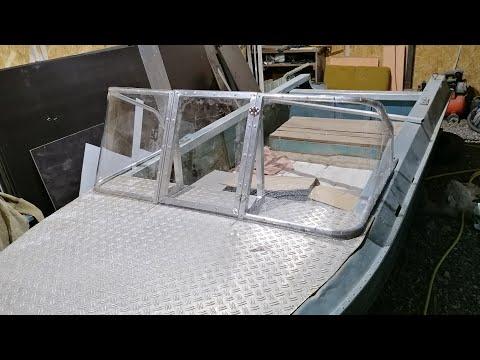 Самодельное стекло на лодку Ока 4!