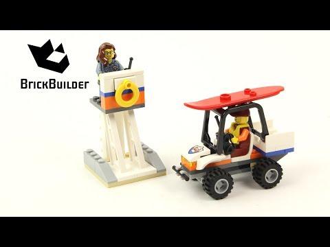 Vidéo LEGO City 60163 : Ensemble de démarrage des garde-côtes
