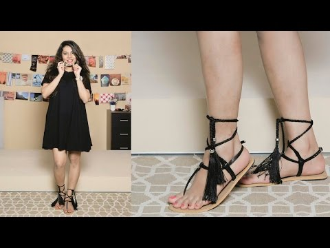 DIY Tassel Sandals   Style Tip