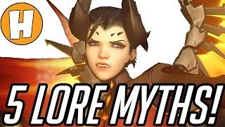 Overwatch - Top 5 Mercy LORE MYTHS! | Hammeh