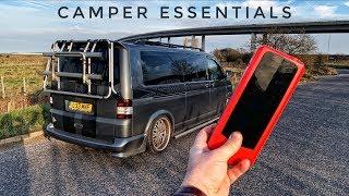 Camper essentials   portable Jump starter by AUDEW