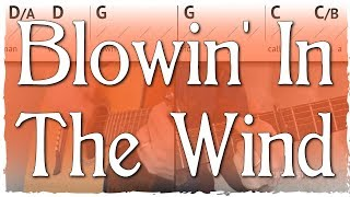 """""""Blowin' In The Wind"""" Guitar Tutorial 