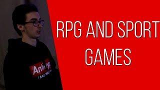 РЕАКЦИЯ НА ФМЕРОВ - RPG AND SPORT GAMES