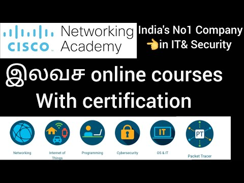 Free Cisco online courses with certification/Cisco networking academy/100% FREE Networking courses/