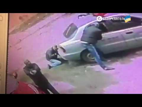 Разбойное нападение на инкассаторов в Киеве