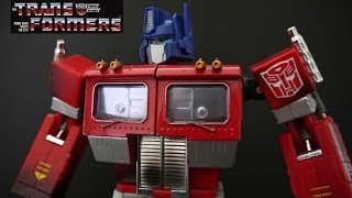 Video Review Of The Transformers MP-01 MASTERPIECE OPTIMUS PRIME