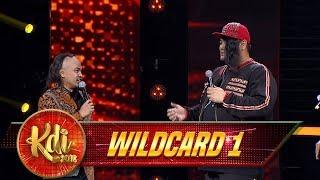 KOCAK BANGET! Wendi dan Master Igun Jadi Bule Asia - Gerbang Wildcard 1 (3/8)