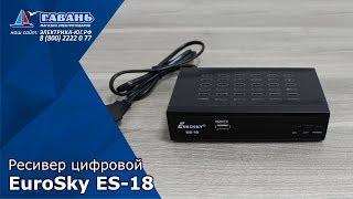 Ресивер цифровой EUROSKY ES-18 DVB-Т2
