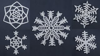 10 Awesome Paper Snowflake Patterns For Christmas Decorations - Easy Paper Craft