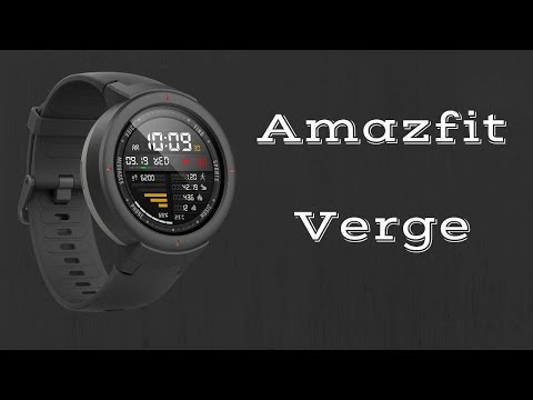 Amazfit VERGE: Unboxing & First Look
