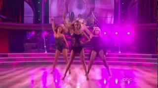 DWTS13 Professional Girl Showdance - I AM WOMAN