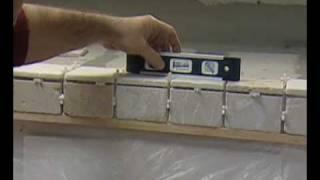 Cómo Instalar Losas en un Mostrador de Cocina con Fregadero - Parte 2