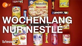 Ernährungs Experiment: Das machen Nestlé Produkte mit deinem Körper