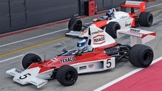 Coulthard and Hakkinen celebrate 50 years of McLaren by driving classic championship winning cars