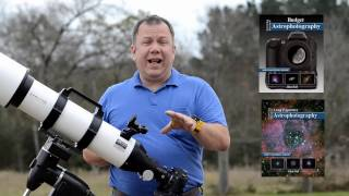 How to connect a DSLR or other camera to your telescope