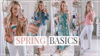 10 SPRING BASICS YOU NEED IN YOUR CLOSET | Shannon Sullivan