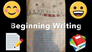Beginning Writing Kindergarten Examples For Kindergarten Readiness