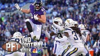 AFC title race wide open after Wild-Card Weekend | Pro Football Talk | NBC Sports