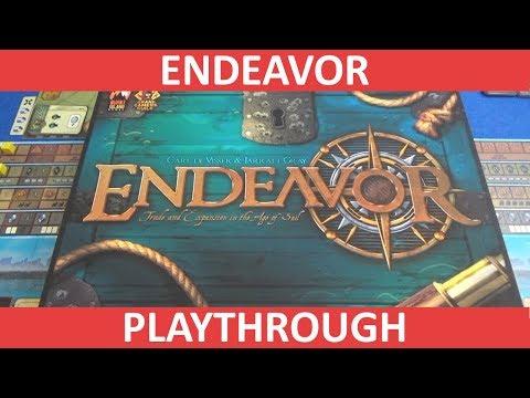 Endeavor: Age of Sail - Playthrough
