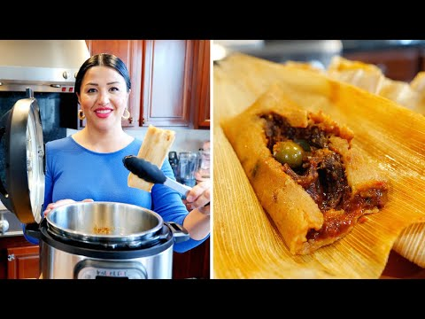 How to make Vegan Tamales | Instant pot Recipe | Mexican food