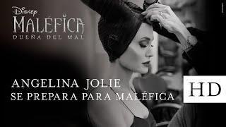 Angelina Jolie se prepara para Maléfica: Dueña del Mal