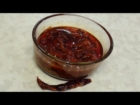 Homemade Schezwan or Szechuan Sauce - Gourmet Cooking by Bhavna