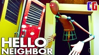 Hello Neighbor CRAZY MANNEQUINS at SCHOOL! FEAR was the LAST Act 3