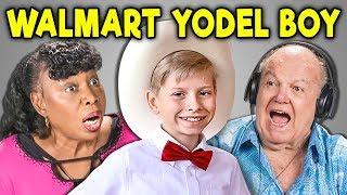 ELDERS REACT TO WALMART YODEL BOY - Video Youtube