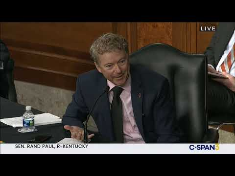 Sen. Rand Paul Questions Dr. Fauci at HELP Hearing Over Lockdowns – Sept. 23, 2020