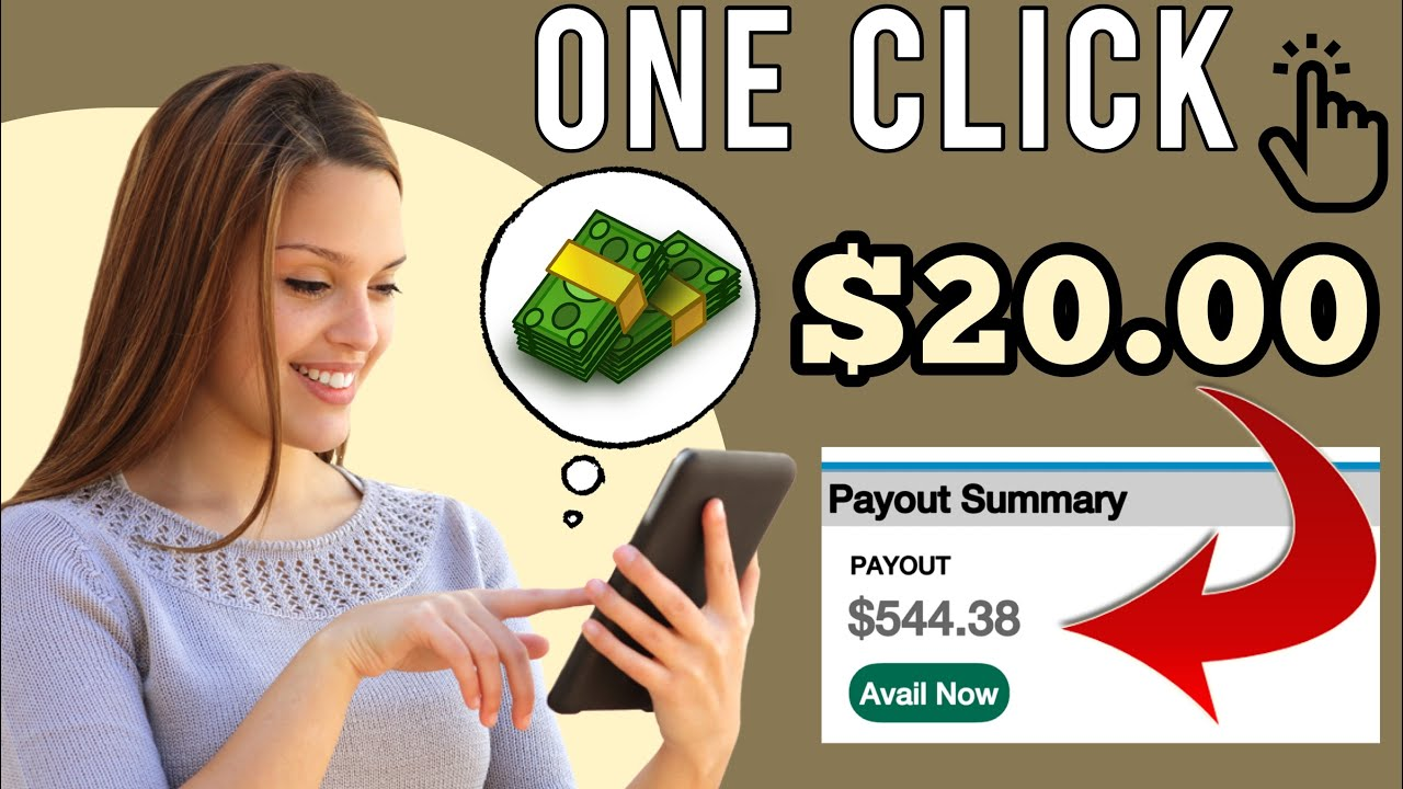 Earn money $20 Whenever You Click This Button|Generate Income Online|Generate Income Online