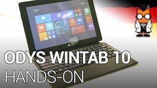 Odys WinTab 10 Hands-on- 10.1-Zoll-Tablet mit Windows für 200 Euro [DEUTSCH]