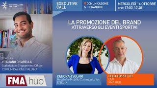 Youtube: La promozione del Brand attraverso gli eventi sportivi | Executive Call | FMA HUB