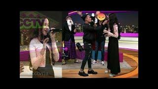 Terpaku Dengar Suara Hannah Delisha Feat Hael Husaini Nyanyi Lagu Jampi Di CCTV|Syafiq Klye Mac