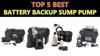 Best Battery Backup Sump Pump 2019 - 2020