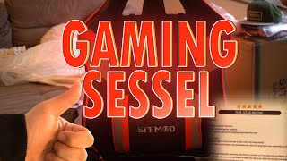 SITMOD Gamer Sessel Unboxing / Test / Review