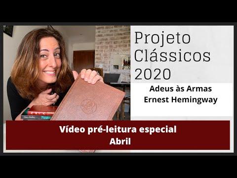Vídeo Pré-Leitura Ernest Hemingway - Abril